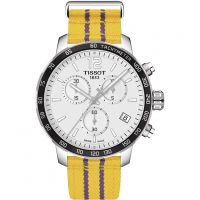 Herren Tissot Quickster NBA Los Angeles Lakers Special Edition Chronograf Uhren