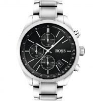 Hugo Boss Grand Prix Herenchronograaf Zilver 1513477