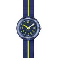 enfant Flik Flak Yellow Band Watch FPNP023