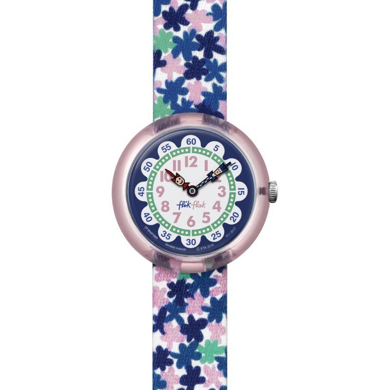 Kinder Flik Flak London Flower Watch FBNP080