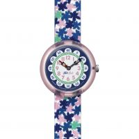 enfant Flik Flak London Flower Watch FBNP080