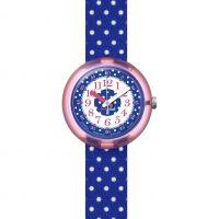 Kinder Flik Flak Blau Crumble Uhren