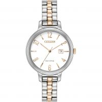 Damen Citizen Silhouette Eco-Drive Watch EW2446-57A