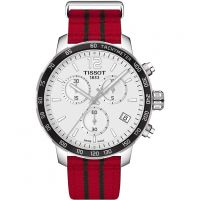 Mens Tissot Quickster NBA Chicago Bulls Special Edition Chronograph Watch