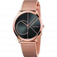 Unisex Calvin Klein Minimal 40mm Uhren
