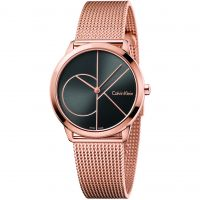 Unisex Calvin Klein Minimal 35mm Watch K3M22621