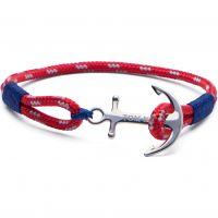 Tom Hope Sterling Silver Arctic Blue Bracelet Size M TM0022