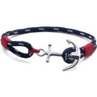 Tom Hope Sterling Silver Atlantic Red Bracelet Size M TM0042