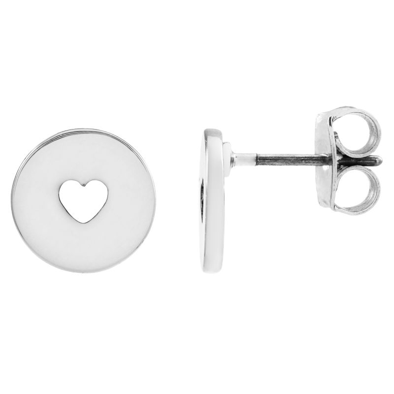 Juicy Couture Dames Take Heart Expressions Stud Earrings Verguld Zilver WJW86799-040