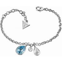 Damen Guess Rhodium Plated Santorini Armband