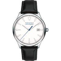 Herren Movado Heritage Series Calendoplan Watch 3650002