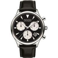Herren Movado Heritage Series Calendoplan Chronograph Watch 3650005