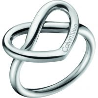 Ladies Calvin Klein Stainless Steel Size L Charming Ring
