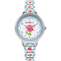 Damen Cath Kidston Provence Rose Blau Expander Uhren
