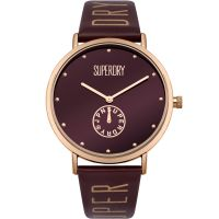 femme Superdry Oxford Crystal Watch SYL175RRG