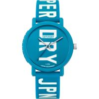 femme Superdry Campus Fluro Block Watch SYL196UW