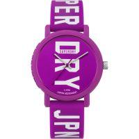 Damen Superdry Campus Fluro Block Uhren