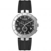 Herren Versus Versace Logo Chrono Chronograph Watch S76080017