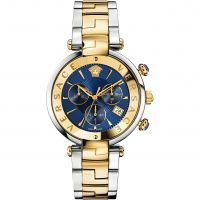 Damen Versace Reve 41mm Chronograf Uhren