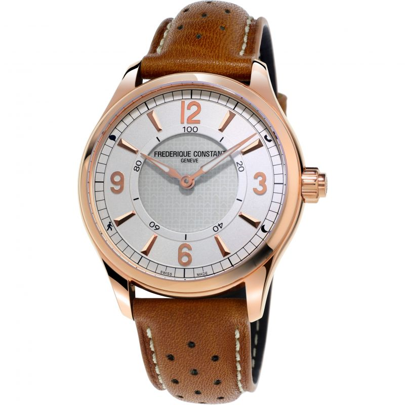 Herren Frederique Constant Horological Smartwatch Bluetooth Watch FC-282AS5B4