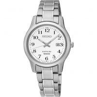 Damen Seiko elegante Uhr