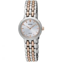 Ladies Seiko Dress Solar Powered Watch SUP351P1