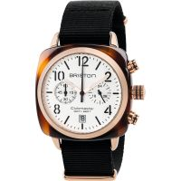 Unisex Briston Clubmaster Classic Acetate Chronograph Watch 17140.PRA.T.2.NB