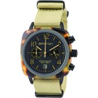 Unisex Briston Clubmaster Classic Acetate Chronograph Watch 14140.PBAM.TS.5.NK