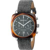 Unisex Briston Clubmaster Vintage Acetate Chronograph Watch 17140.SA.TV.17.LFG