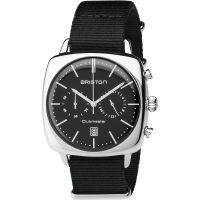 unisexe Briston Clubmaster Vintage Steel Chronograph Watch 17140.PS.V.1.NB