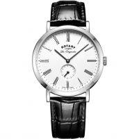 Herren Rotary Schweizer hergestellt Windsor Klein Zweite Uhren