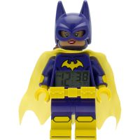 Kinder LEGO Batman Movie Batgirl minifigure clock Wecker