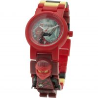 Childrens LEGO Ninjago Time Twins Kai Minifigure Link Watch