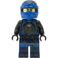 Childrens LEGO Ninjago Time Twins Jay Minifigure Alarm Clock