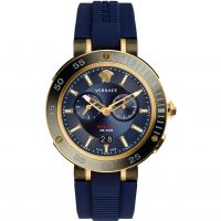 Mens Versace V-Extreme Pro Dual Time Watch VCN010017