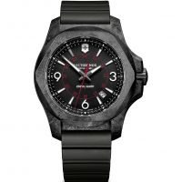 Mens Victorinox Swiss Army INOX Carbon Watch