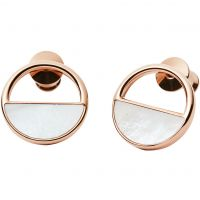 Biżuteria damska Skagen Jewellery Elin Mother Of Pearl Stud Earrings SKJ0998791