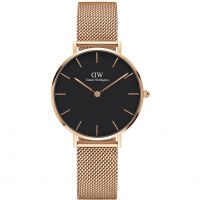 Damen Daniel Wellington Classic Petite Melrose Watch DW00100161