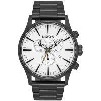 Herren Nixon The Sentry Chrono Chronograph Watch A386-756