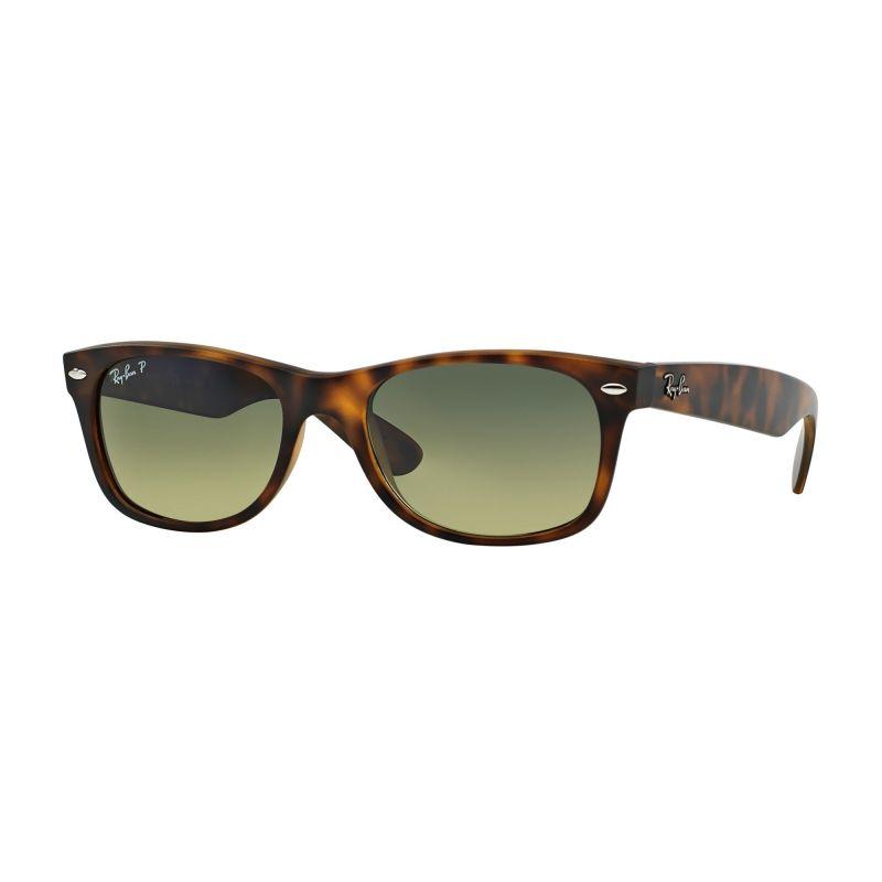 Mens Ray-Ban Tortoise/Blue Green Gradient New Wayfarer Classic Sunglasses RB2132-894/76-52