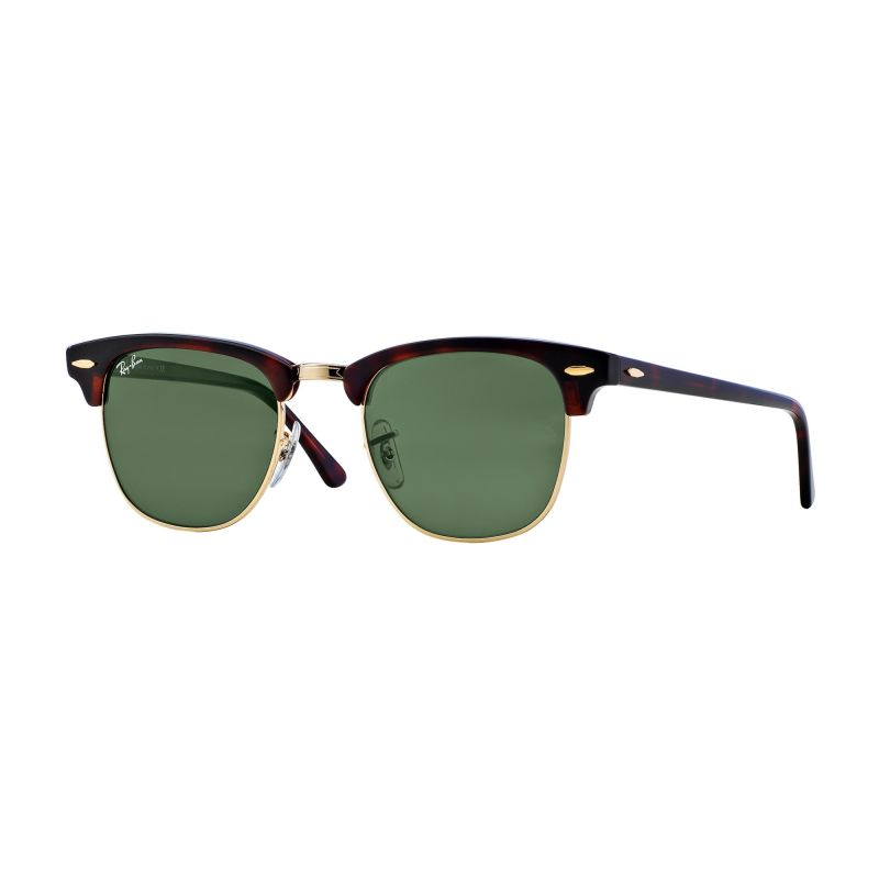 Mens Ray-Ban Clubmaster Fleck Sunglasses RB3016-W0366-51