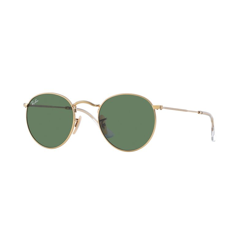 Mens Ray-Ban Round Metal Sunglasses RB3447-001-50