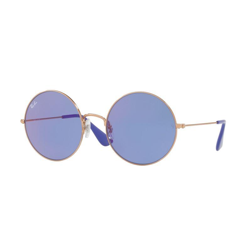 Ladies Ray-Ban Bronze-Copper/Dark Violet Classic Ja-Jo Sunglasses RB3592-9035D1-55
