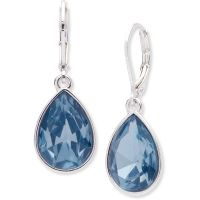 Ladies Nine West Silver Plated Drop Earrings