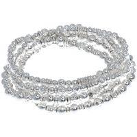 Ladies Nine West Silver Plated Stretch Bracelet 60457365-G03
