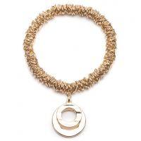 Anne Klein Jewellery Stretch Hoop Charm Bracelet JEWEL