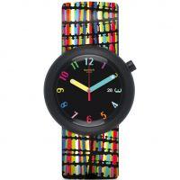 Unisex Swatch Crazypop Watch PNB400