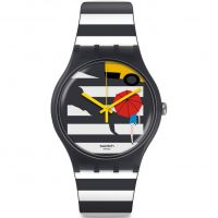 Unisex Swatch Cross The Path Uhren