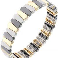 femme Nine West Jewellery Stretch Bracelet Watch 60391633-Z01