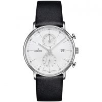 Herren Junghans FORM C Chronoscope Chronograph Watch 041/4770.00